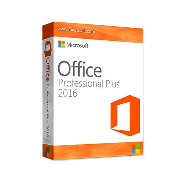 Microsoft Office Pro Plus 2016 box
