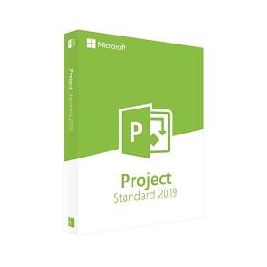 Microsoft Project Standard 2019 suite